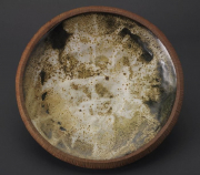 "CR 5 - Stoneware Platter – 4"" H x 17.25"" W | SOLD"