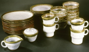 CR 9 - Stoneware 65 Piece Dishes Set | SOLD