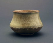 """CR 11 - Pit Fired Pot – 5"""" H x 6.75"""" W 