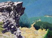 "2 - Mt. Cheam, Near the Summit - Acrylic Painting: 12"" H x 16"" W - Framed: 18"" H x 22"" W | $1,200 US"