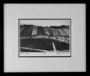 """23 - The Gaspe - Limited Edition of 15 Etched Prints: Image is 6.5"""" H x 9"""" W. Only One Left (Framed) With UV Protected, Non-Glare Glass and Double Matting: 13.5' H x 16"""" W 