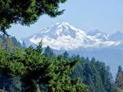 1 - 1   Mt. Baker from Abbotsford, British Columbia