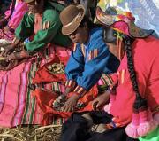 1 - 25    Uros Ladies Bartering, Lake Titicaca, Bolivia