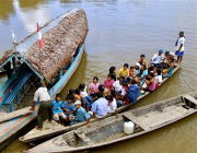 2 - 20    Amazon River Boat to Colombia, Esperaza, Peru
