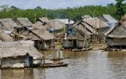 2 - 7    Houseboats, Amazon River, Belen, Peru