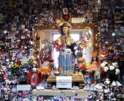 3 - 30    Statue of Santo Nino, Chimayo, New Mexico