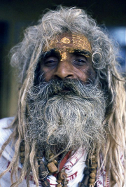 3 - 8    Sadhu Holy Man, Varanasi, India