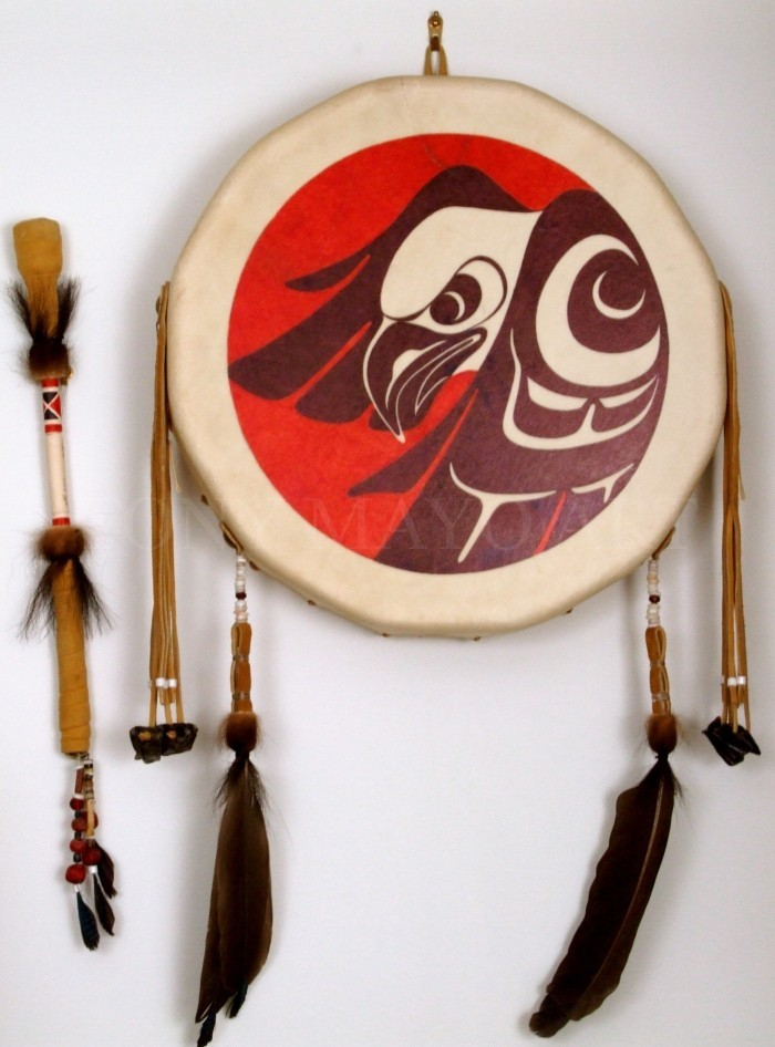 Sto-lo Style First Nations Drum