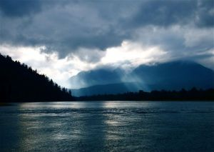 1 - Storm On The Harrison River, British Columbia