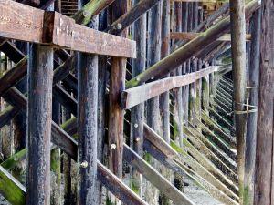 15 - Underside of Pier, Gibsons, British Columbia