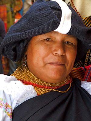 9 - Otavalenos Woman, Quito, Ecuador