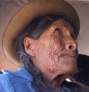 10 - Huayllacocha Elder Near Chinchaypucyo, Peru