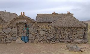 11 - Qulla Descendant Living Near Puno, Peru