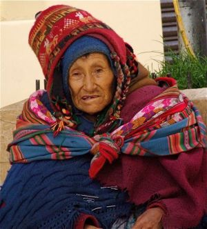 2 - Quechua Inca Elder, Puno, Peru