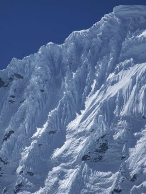 9 - Chacraraju Glacier In The Cordillera Blanca Mountains