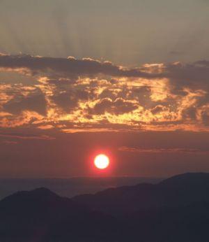 2 - British Columbia North Shore Mountain Sunset