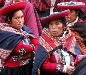 23 - Quechua Ladies At Inti Raymi