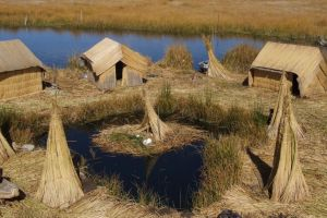 27 - Uros Village On Floating Reed Island