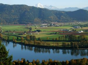 3 - Fraser Valley From Mission, British Columbia