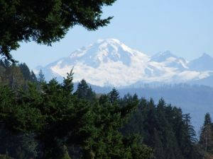 1 - Mt. Baker From Abbotsford, British Columbia