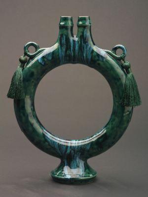 Donut Vase - Low Fire Ceramic