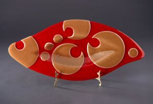 Platter - Fused and Slumped Glass
